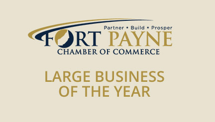 fort payne chamber of commerce large business of the year